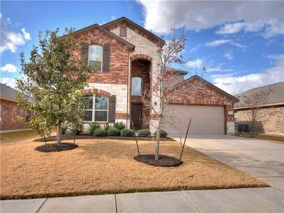 Hutto TX Single Family Home For Sale: $275,900