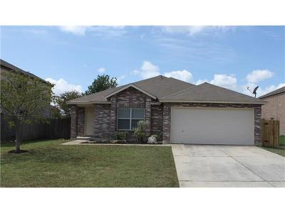 Leander Single Family Home For Sale: 309 Edgewood Cv