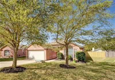 Round Rock Single Family Home Pending - Taking Backups: 3308 Alexander Valley Cv