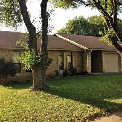 Austin TX Single Family Home For Sale: $269,900