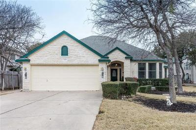 Round Rock Single Family Home For Sale: 4108 Vista Isle Dr