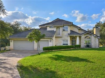 Austin Single Family Home For Sale: 400 Canyon Rim Dr