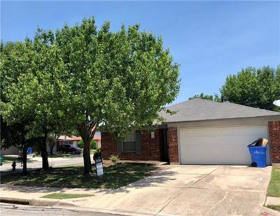 Pflugerville Single Family Home For Sale: 1506 Mayapple St
