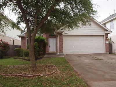 Austin Single Family Home For Sale: 3521 Roller Xing