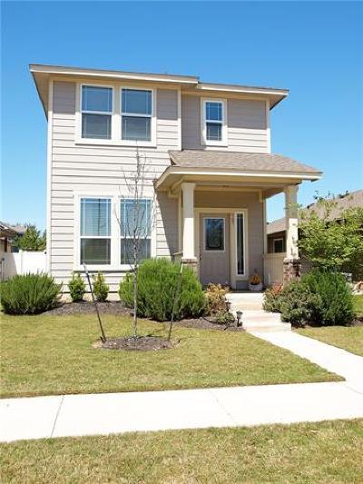 Cedar Park TX Single Family Home Pending - Taking Backups: $211,000