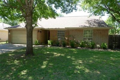 Pflugerville Single Family Home For Sale: 502 Dusty Leather Ct