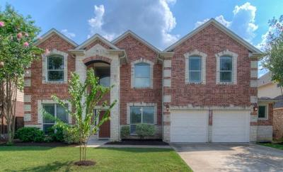 Round Rock Single Family Home For Sale: 703 Crestwood Ln
