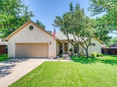 Cedar Park Single Family Home Pending - Taking Backups: 119 N Winecup Trl