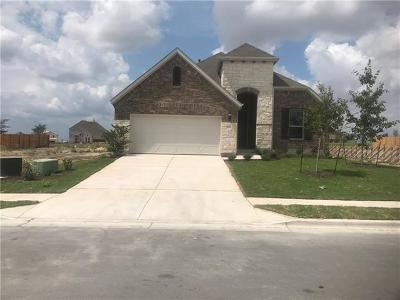 Round Rock Single Family Home For Sale: 6871 Catania Loop