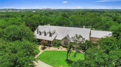 Dripping Springs TX Single Family Home For Sale: $1,195,000