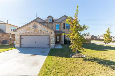 Round Rock Single Family Home For Sale: 5901 Mantalcino Dr