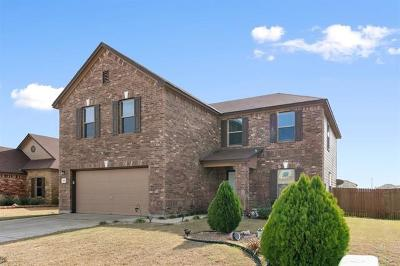 Hutto Single Family Home For Sale: 505 Carrington St