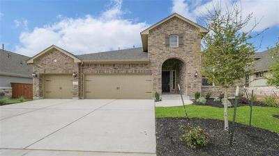 Round Rock Single Family Home For Sale: 2520 Portici Pass