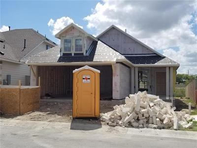 Pflugerville Single Family Home For Sale: 4807 Portillo