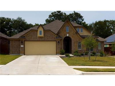 Hutto Single Family Home For Sale: 309 Lismore St