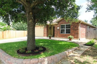Cedar Park Single Family Home For Sale: 1204 Heritage Park Dr