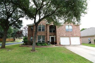 Round Rock Single Family Home For Sale: 4453 Hunters Lodge Dr
