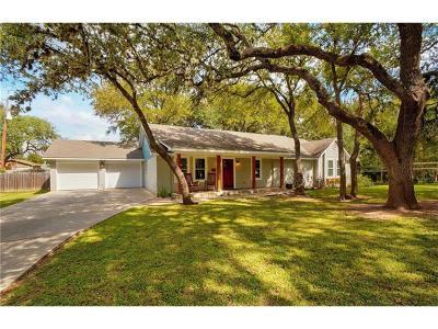 San Marcos Single Family Home Pending - Taking Backups: 712 Snyder Hill Dr