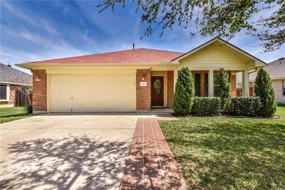 Cedar Park Single Family Home For Sale: 640 Columbine Ave