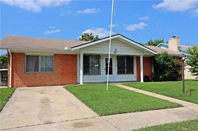 Killeen Single Family Home Pending - Taking Backups: 3313 Lake Charles Ave