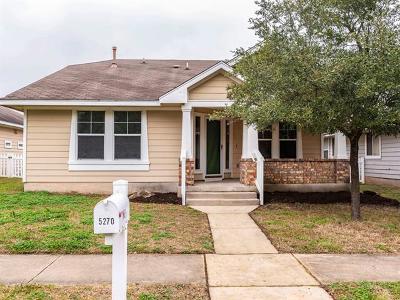 Kyle Single Family Home Pending - Taking Backups: 5270 Hartson