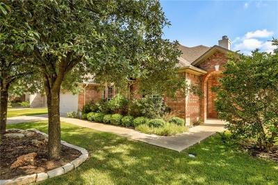 Round Rock Single Family Home For Sale: 2321 Masonwood Way