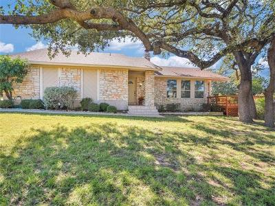 Lago Vista Single Family Home Pending - Taking Backups: 20501 Sunset Ln
