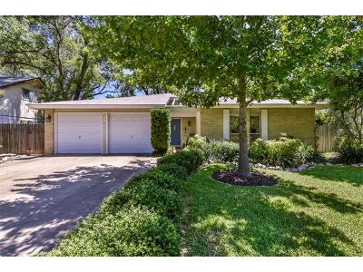 Round Rock Single Family Home For Sale: 1407 Sagebrush Dr