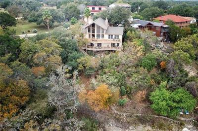 Marble Falls Single Family Home For Sale: 3609 Peninsular Dr