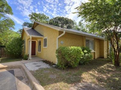Travis County Condo/Townhouse Pending - Taking Backups: 4902 Duval Rd #J1
