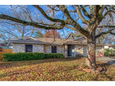 Georgetown Single Family Home Pending - Taking Backups: 3306 Rocky Hollow Trl