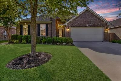 Round Rock Single Family Home For Sale: 4525 Monterosa Ln