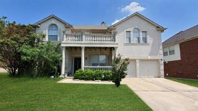 Round Rock Single Family Home For Sale: 7108 Avignon Dr
