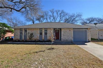 Hays County, Travis County, Williamson County Single Family Home For Sale: 1623 Chippeway Ln