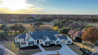 Georgetown TX Single Family Home For Sale: $1,395,000