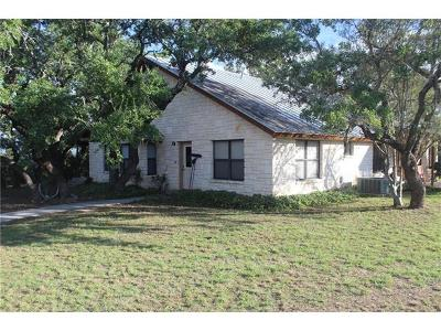 Spicewood Single Family Home For Sale: 199 Middleton Rd