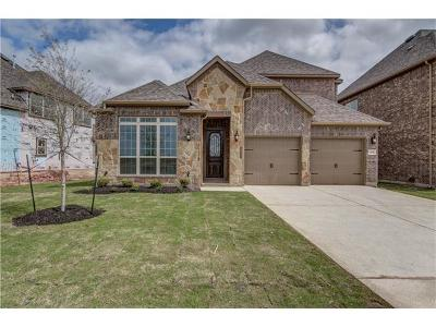 Leander Single Family Home For Sale: 536 Mistflower Springs