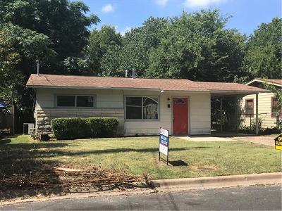 Austin Single Family Home For Sale: 405 Hammack Dr