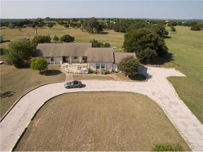 Liberty Hill Single Family Home For Sale: 270 County Road 284