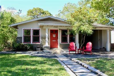 Austin Single Family Home Pending - Taking Backups: 7502 Saint Phillip St