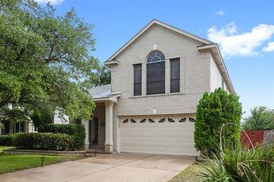 Cedar Park TX Single Family Home For Sale: $275,000