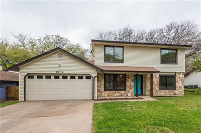 Austin Single Family Home For Sale: 9214 Independence Loop