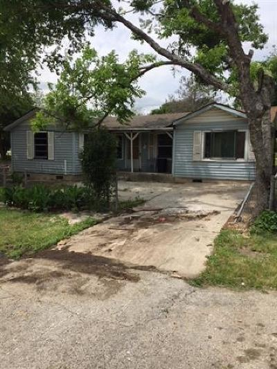 Kyle Single Family Home For Sale: 451 S Main St