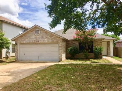 Cedar Park Single Family Home For Sale: 2610 Byfield Dr