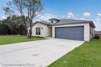 Lago Vista Single Family Home For Sale: 4002 Constitution Dr