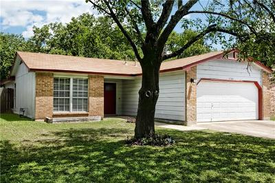 Round Rock Single Family Home For Sale: 1502 Peachtree Valley Dr