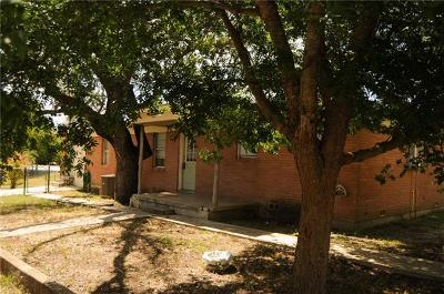 Lampasas County Single Family Home For Sale: 1407 E 4th St