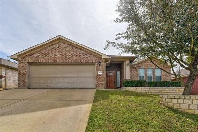 Round Rock Single Family Home For Sale: 1905 Rachel Ln