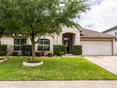 Pflugerville Single Family Home Pending - Taking Backups: 905 Portchester Castle Path