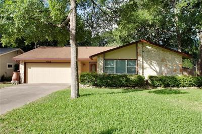 Austin Single Family Home For Sale: 4311 Harcourt Dr